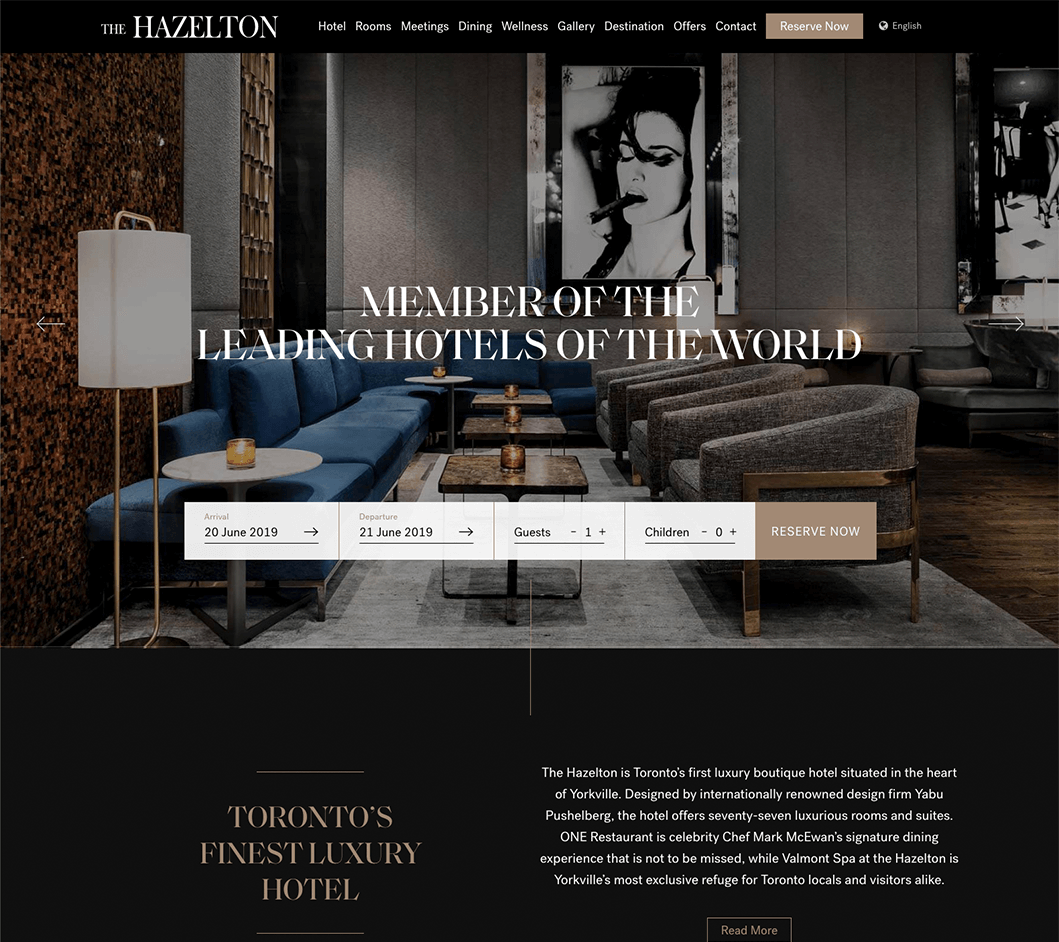 Vordik Project Case Study for The Hazelton Hotel