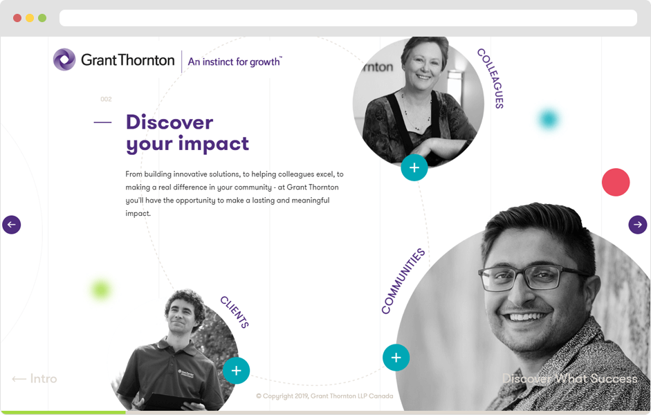 Vordik Project Case Study for Grant Thornton